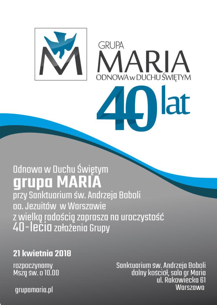 40lecieMARIA